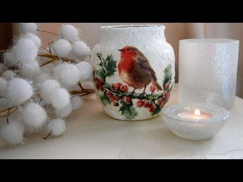 How To Create A Wonderful Red Robin Candle Holder - DIY Crafts Tutorial - Guidecentral