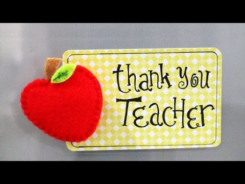 How To Create An Apple Memo Clip Fridge Magnet - DIY Crafts Tutorial - Guidecentral