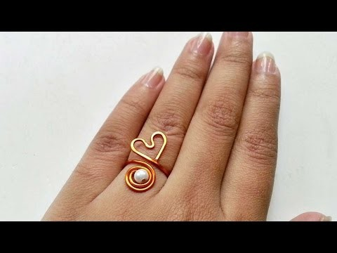 How To Create Swirl And Heart Ring - DIY Crafts Tutorial - Guidecentral