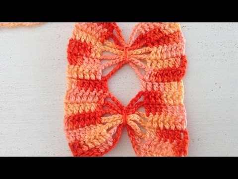 How To Crochet A Butterfly Pattern - DIY Crafts Tutorial - Guidecentral