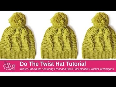 How to Crochet A Hat: Do the Twist Stitch