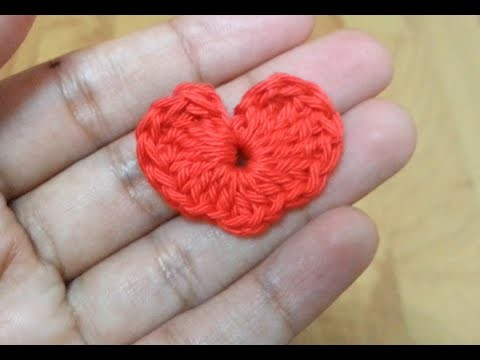How to crochet a heart? | !Crochet!