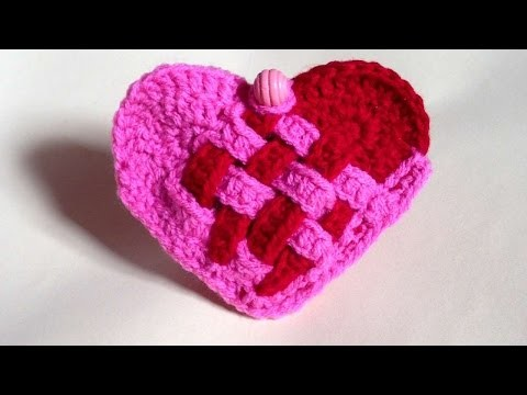 How To Crochet A Heart Purse For Valentines Day - DIY Crafts Tutorial - Guidecentral