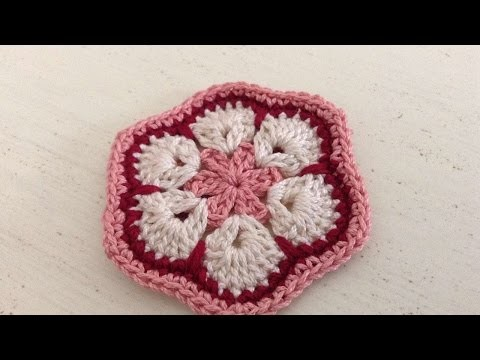 How To Crochet An African Flower - DIY Crafts Tutorial - Guidecentral