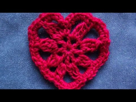 How To Crochet An Openwork Heart - DIY Crafts Tutorial - Guidecentral