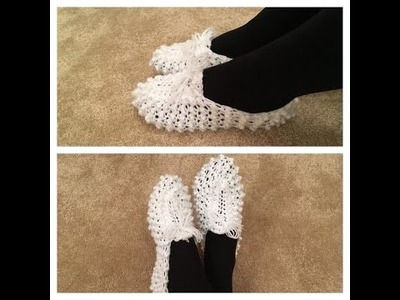 How to crochet easy slippers
