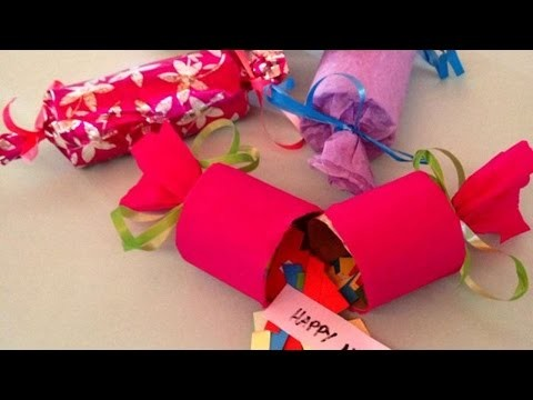 How To DIY Party Poppers For New Year's Eve - DIY Crafts Tutorial - Guidecentral
