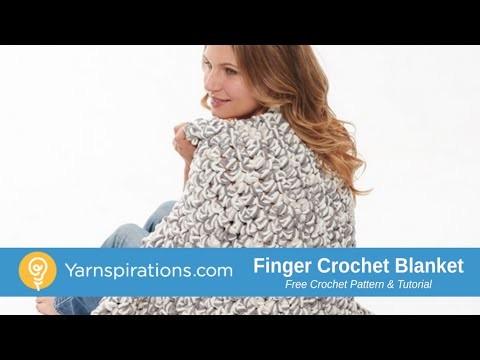 How To Finger Crochet a Blanket