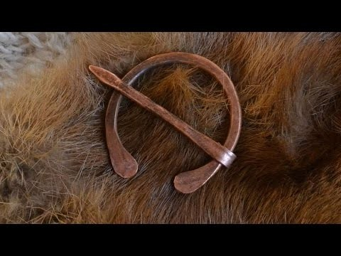 How To Make A Celtic Penannular Brooch - DIY Crafts Tutorial - Guidecentral