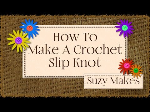How to Make A Crochet Slip Knot