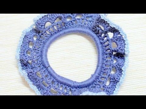 How To Make A Crocheted Blue Hair Band - DIY Crafts Tutorial - Guidecentral