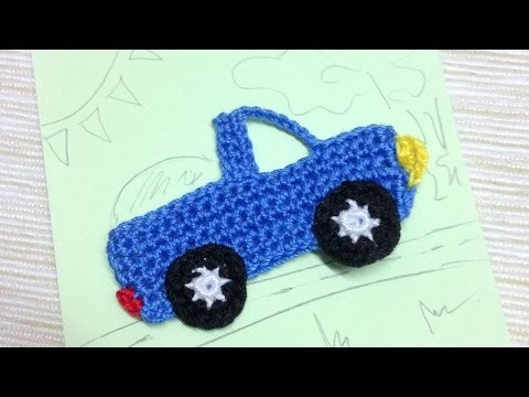 How To Make A Crocheted Pick-Up Truck Applique - DIY Crafts Tutorial - Guidecentral