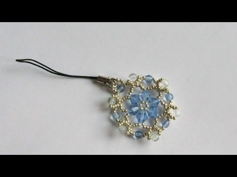 How To Make A Crystal Flower Phone Charm - DIY Crafts Tutorial - Guidecentral