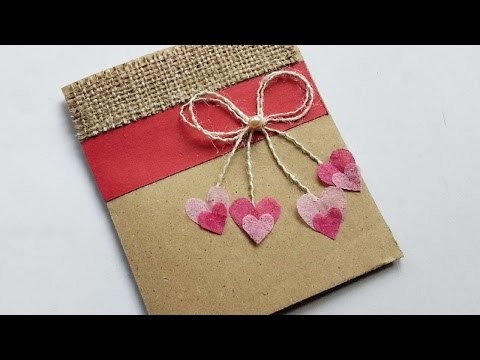 How To Make A Cute Hearts And Bow Card - DIY Crafts Tutorial - Guidecentral