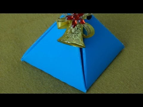 How To Make A DIY A Gift Box - DIY Crafts Tutorial - Guidecentral