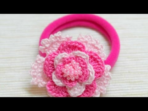 How To Make A Lovely Crocheted Pink Hair Band - DIY Crafts Tutorial - Guidecentral
