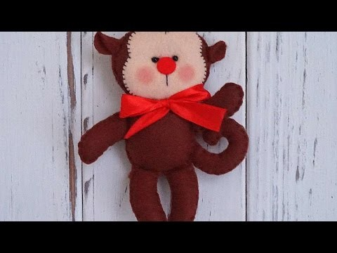 How To Make A New Year's Felt Monkey - DIY Crafts Tutorial - Guidecentral