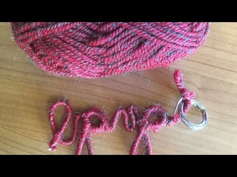 How To Make A Personalized Key Chain - DIY Crafts Tutorial - Guidecentral