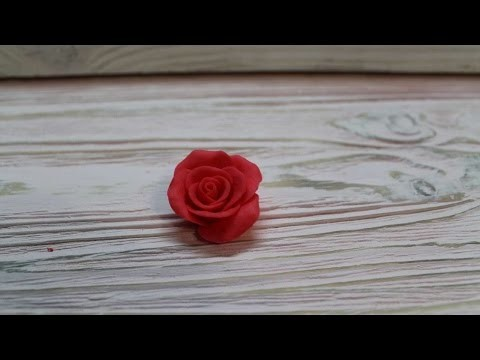 How To Make A Rose From Cold Clay - DIY Crafts Tutorial - Guidecentral