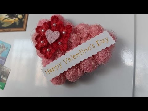 How To Make A Valentine's Day Magnet - DIY Crafts Tutorial - Guidecentral
