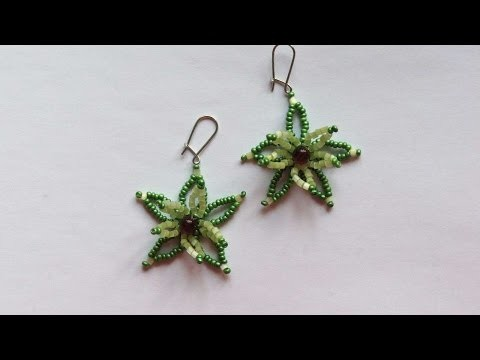 How To Make Beaded Flower Earrings - DIY Crafts Tutorial - Guidecentral