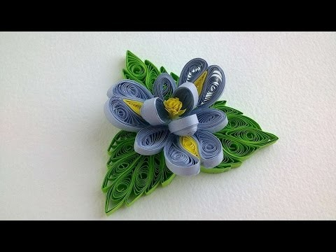 How To Make Beautiful Quilled Orchid - DIY Crafts Tutorial - Guidecentral