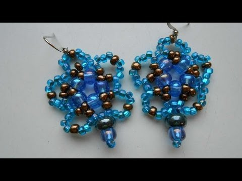 How To Make Blue Beaded Earrings - DIY Crafts Tutorial - Guidecentral