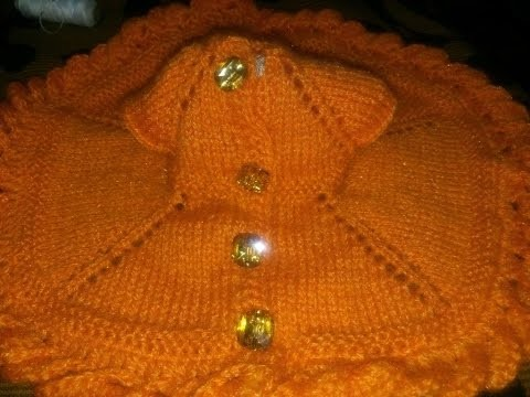 How to make button patti with crochet on knitting project