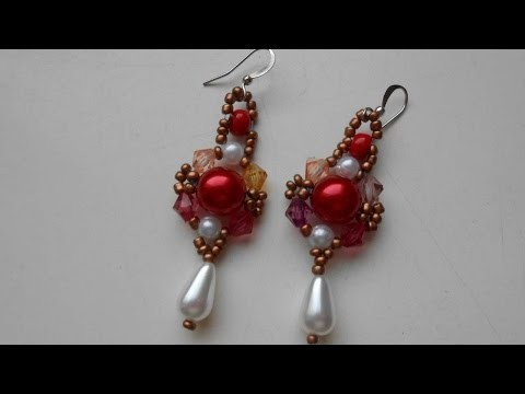 How To Make Pretty Beaded Earrings - DIY Crafts Tutorial - Guidecentral