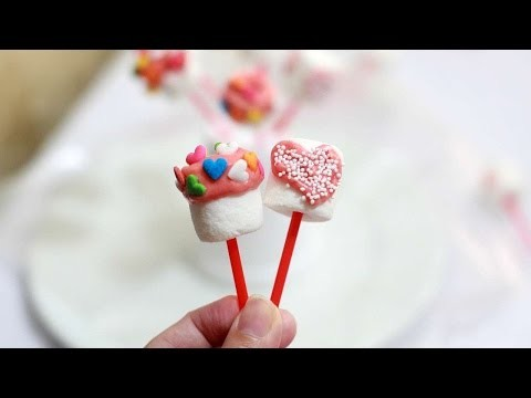 How To Make Sweet Valentine Marshmallow Pops - DIY Crafts Tutorial - Guidecentral