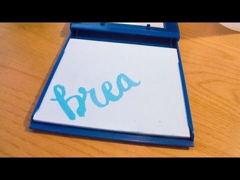 How To Practice Your Watercolor Lettering - DIY Crafts Tutorial - Guidecentral