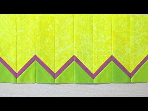 How To Sew A Chevron Quilt Pattern - DIY Crafts Tutorial - Guidecentral
