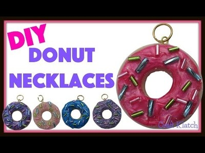 Resin Donut Pendants DIY ~ Craft Klatch Jewelry Series