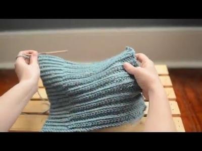 Slip Stitch Crochet Ribbing