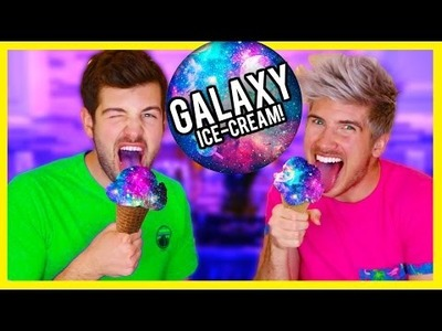 VEGAN GALAXY ICE CREAM DIY!