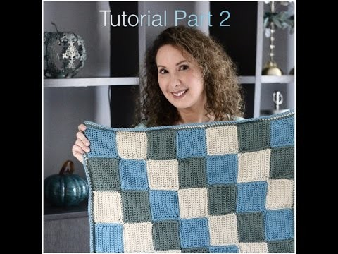 Baby Blanket Crochet Tutorial Part Two: Creating a Border and Finishing your work