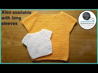 Child Sweater Crochet Tutorial