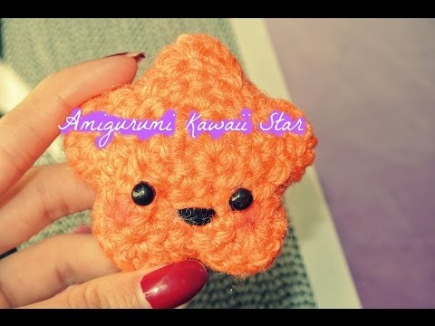 Crochet Amigurumi Kawaii Star