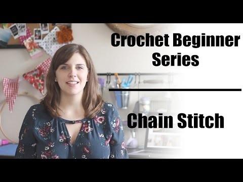 Crochet Beginner Series Part 3: Chain Stitch | Sewrella