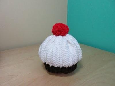 Crochet cupcake baby hat - Ruby Stedman