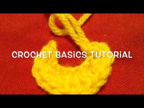 Crochet Stitch Basics - Tutorial