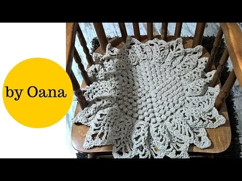 Crochet Sunflower cover