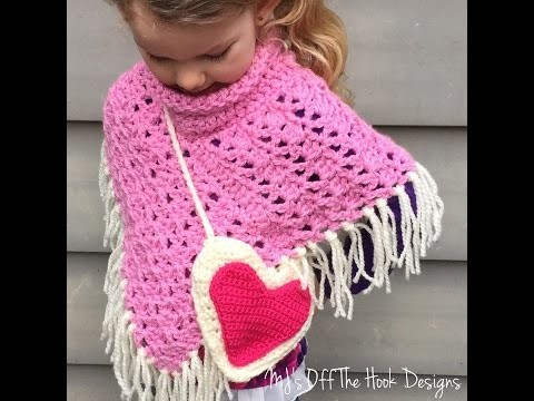 Crochet Valentine's Heart Purse