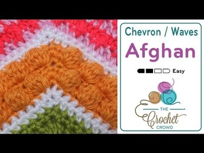 How to Crochet A Wave Afghan: Bobble Stitch