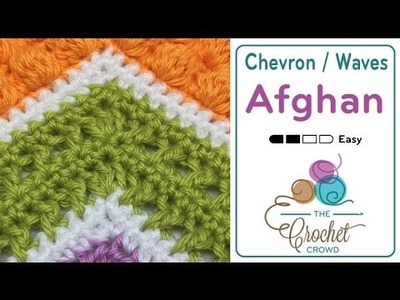 How to Crochet A Wave Afghan: Criss Cross Stitch