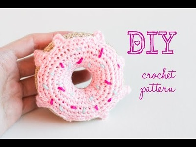 How To Crochet Amigurumi Donut - Crochet Tutorial
