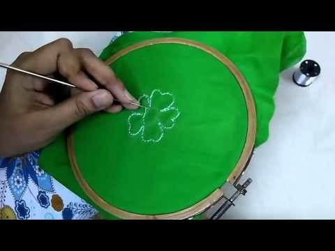 How to do Aari.Handwork ►► Chain Stitch
