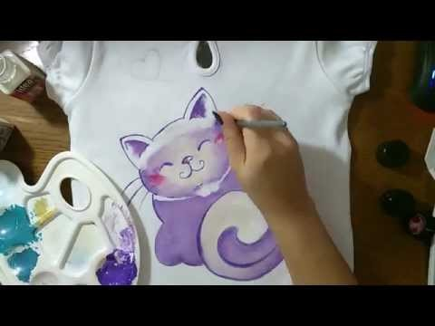 [HOW TO] Happy Cat T-shirt
