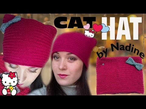 How to Knit a Kitty Hat [SUPER EASY]