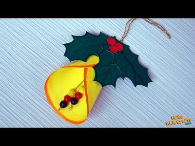 How to make a Christmas Bell Decoration?